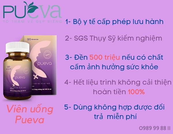 viên uống nội tiết tố nữ Pueva