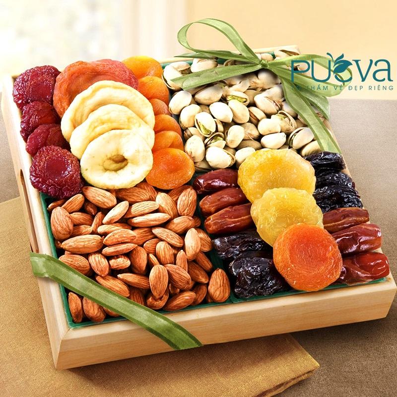 bổ sung nội tiết tố nữ từ trái cây