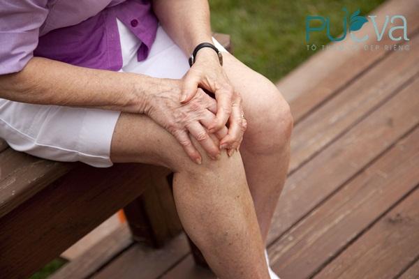 đau nhức tuổi mãn kinh do xương khớp