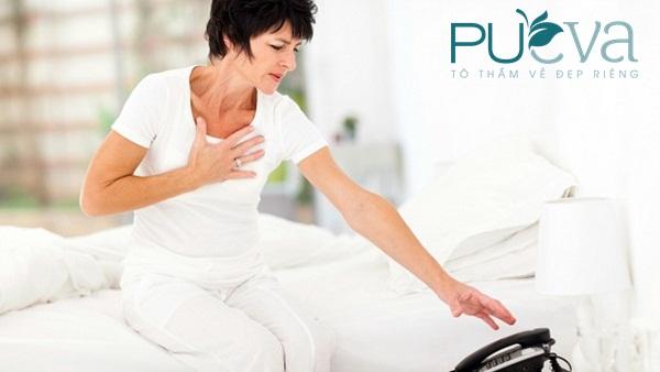 dấu hiệu tiền mãn kinh nguy cơ bệnh tim mạch