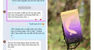 review thuốc nội tiết tố nữ Pueva