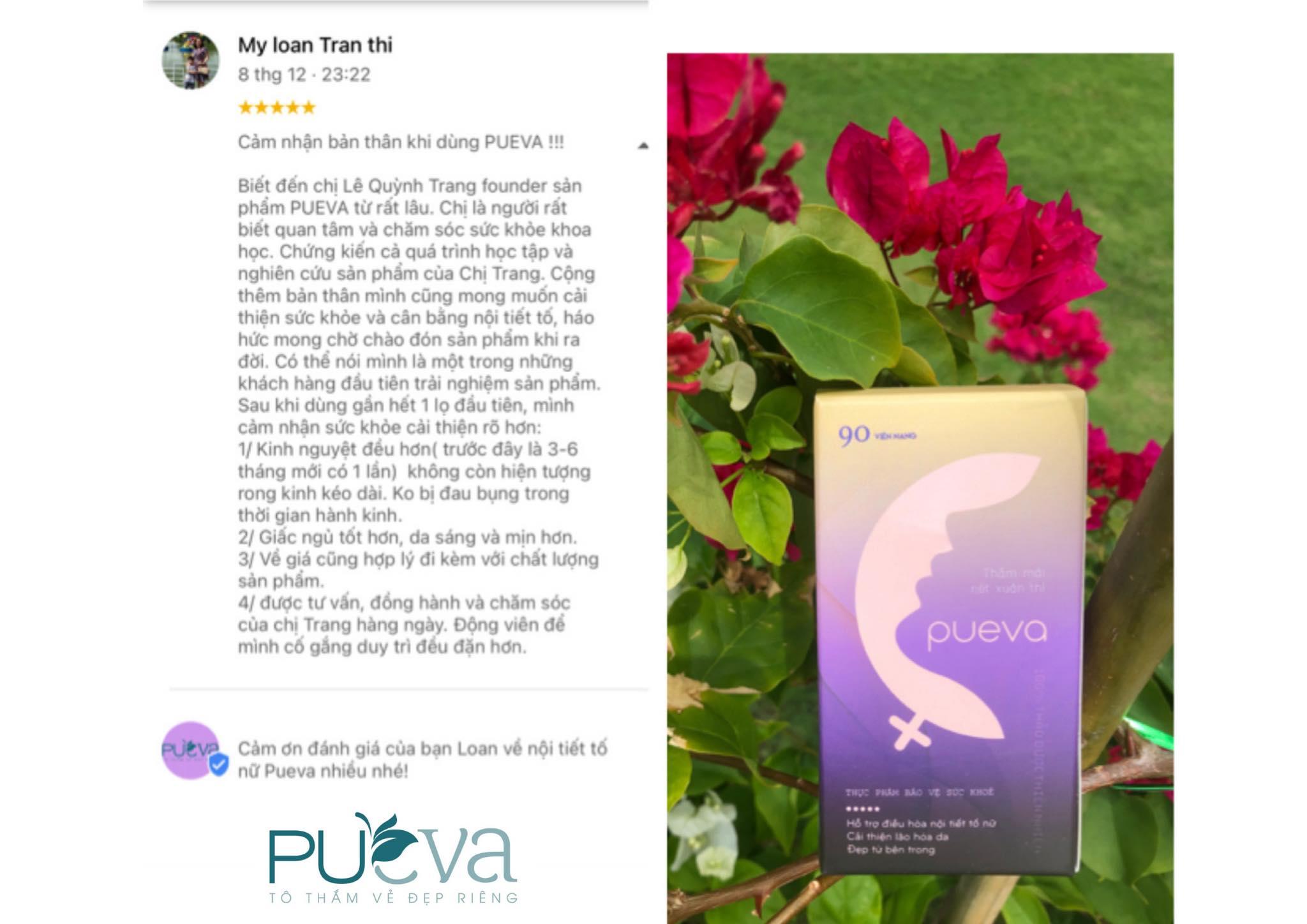 thuốc nội tiết tố nữ Pueva